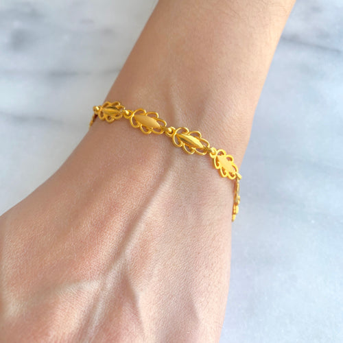 Gold Ladies Bracelet