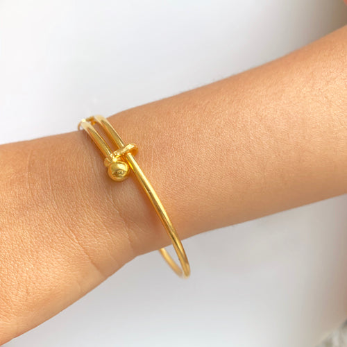 Simple Adjustable Pipe Baby Bangles