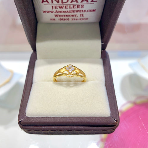 Special CZ ring