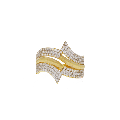 Symmetrical CZ Ring