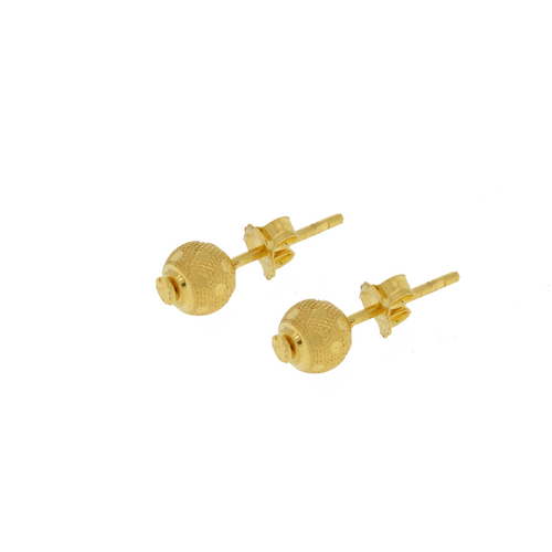 Classic Yellow Gold Earrings