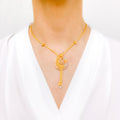Elevated Three-Tone Necklace Set