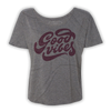 Good Vibes Slouchy Tee - Grey