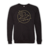 Crow Crewneck Sweater - Black