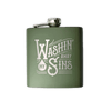 Washin' Away Metal Flask