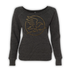 Crow Ladies Wideneck Sweater - Black