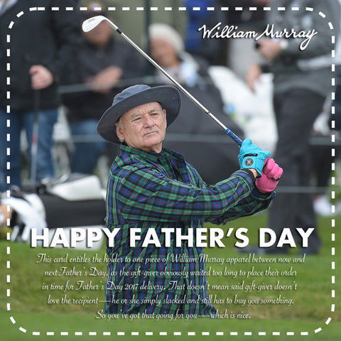 bill murray fathers day william murray golf men's apparel fashion pebble beach
