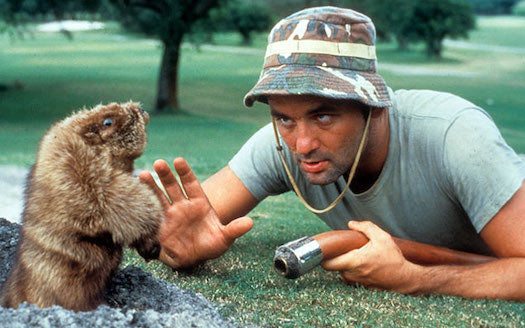 bill murray caddyshack carl spackler the masters cinderella boy augusta rodney dangerfield brian doyle-murray