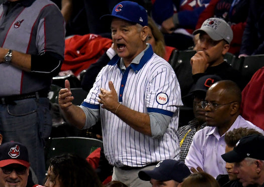 chicago cubs 2016 world series bill murray cleveland indians
