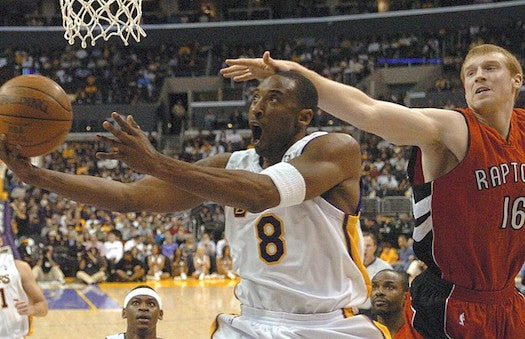 kobe bryant los ángeles lakers toronto raptors 81 point games