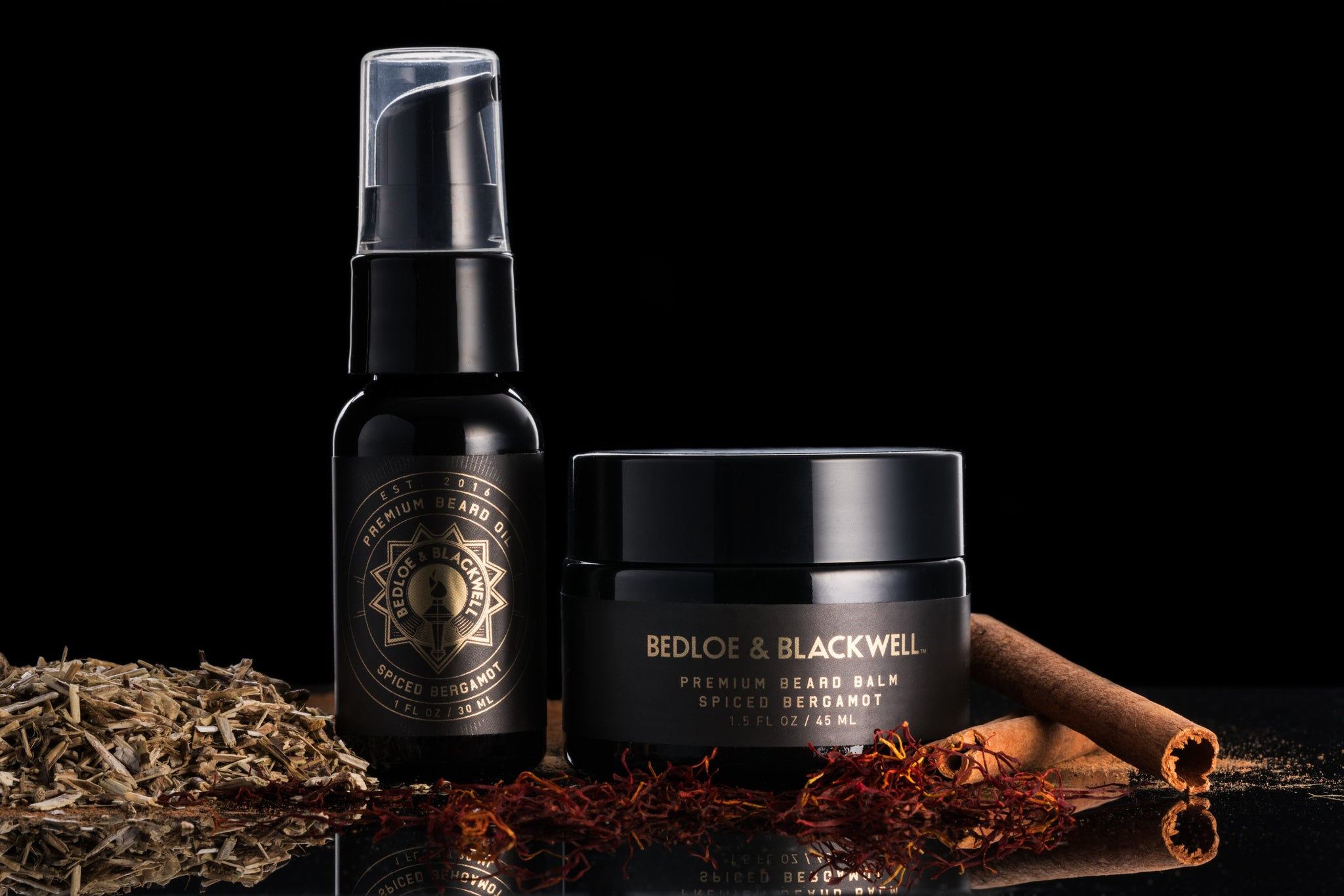 Spiced Bergamot Beard Care Set
