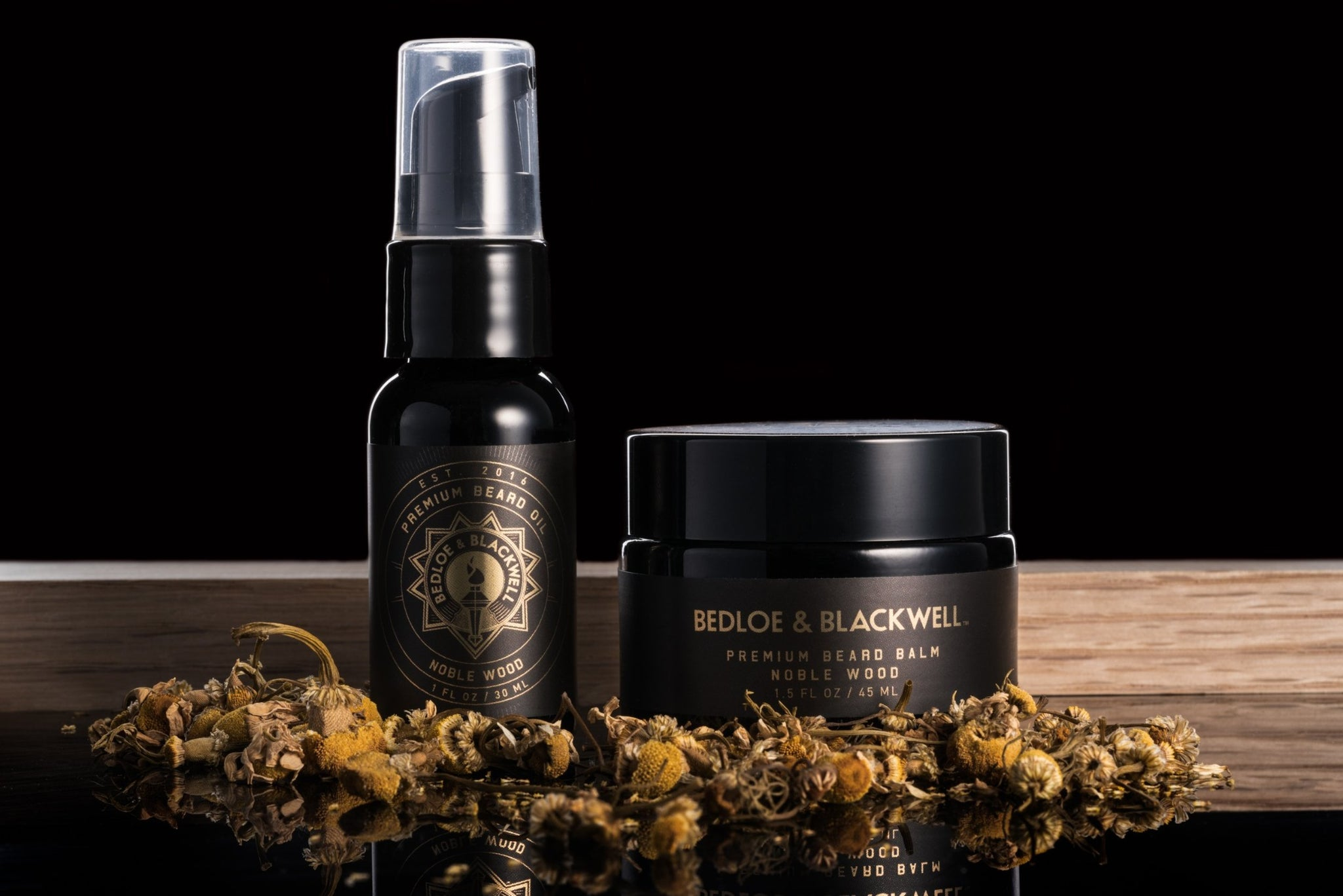 Noble Wood Beard Care Set