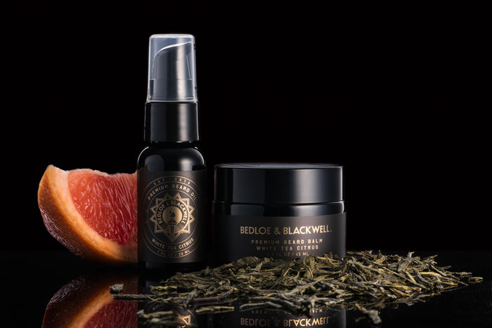 White Tea Citrus Beard Care Set