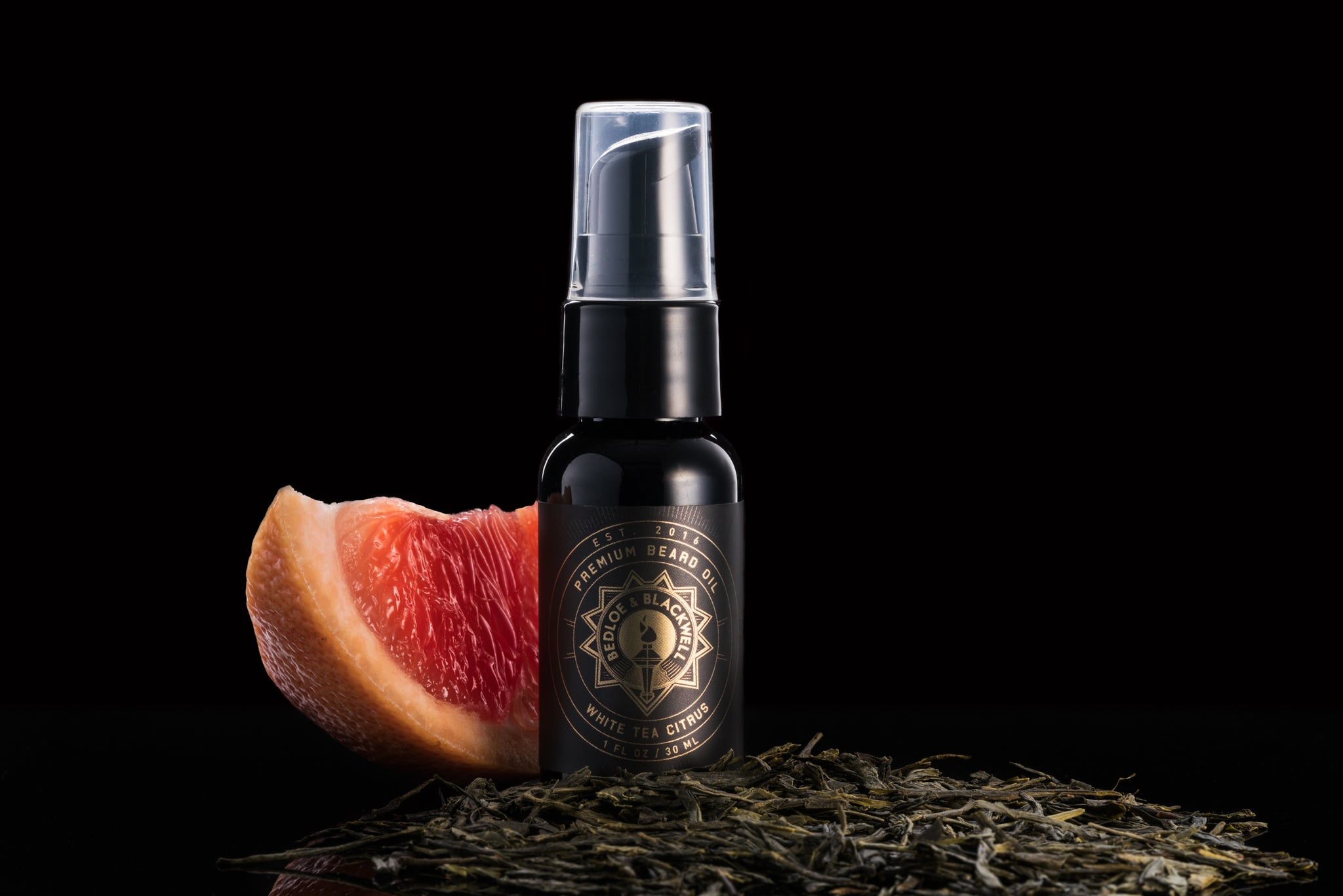 White Tea Citrus Beard Oil