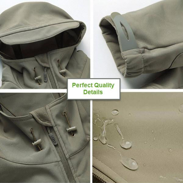 Outdoor Softshell Jacket - Series X1- Gray