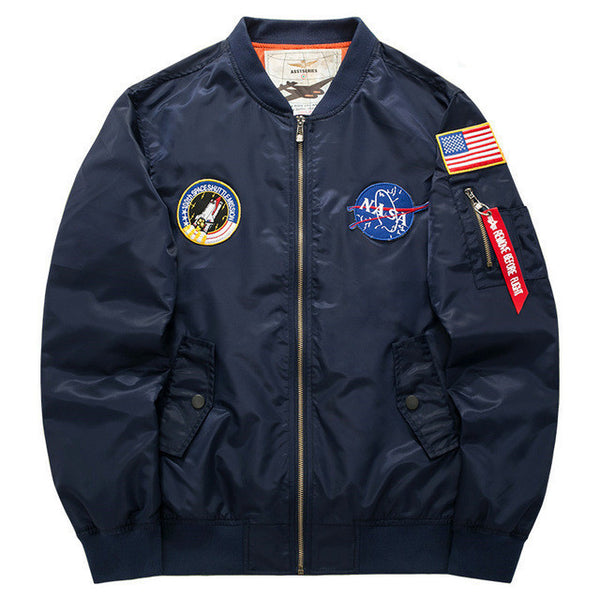 Men's X-1 Aviator Bomber Air Force Pilot Style Jacket