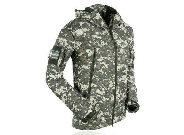 Outdoor Softshell Jacket - Series X1- green-camo