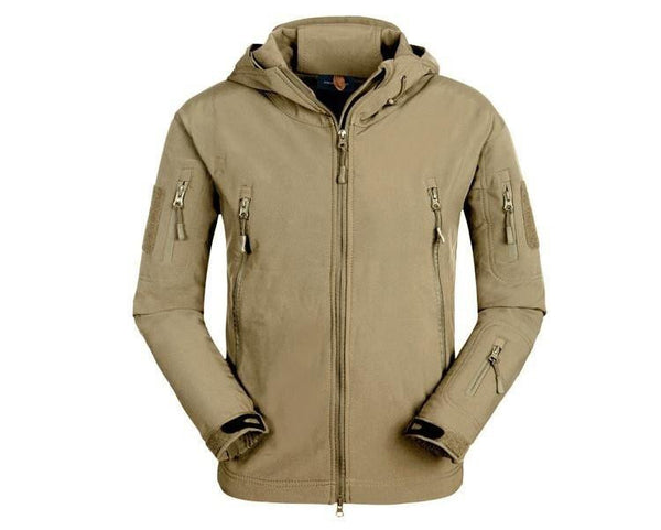 Outdoor Softshell Jacket - Series X1- Brown Snake