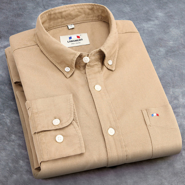 2017 Oxford 100% Cotton Casual Shirt