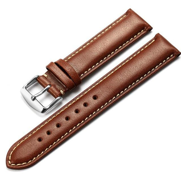 Genuine Leather Watch Strap fits 'Venice' - Brown