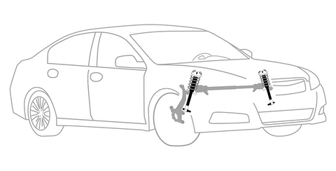 Steering and Suspension System: Shocks Replacement