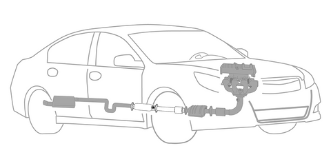 Exhaust System Repair: Center Exhaust Section Replacement