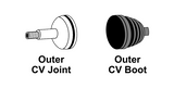 Axle and CV: Inspection