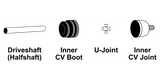 Axle and CV: U-Joint Replacement