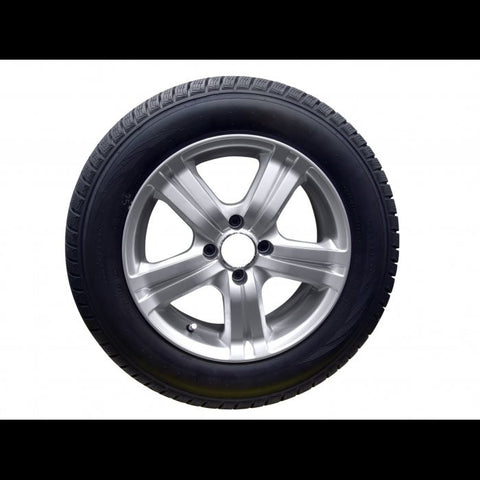 We only supply the tire. If there is a rim shown in the picture, it is for display purposes only. The picture serves only for representation purposes.