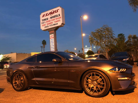 Eibach 35145.140 Lowering Coil Springs: Pro-Kit Performance Springs 2015+ Ford Mustang