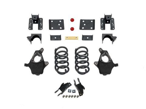 "MaxTrac: K331546²; 2014+ SILVERADO/ SIERRA 1500 4"" / 6"" LOWERING KIT SHORT BED (SPINDLE)"