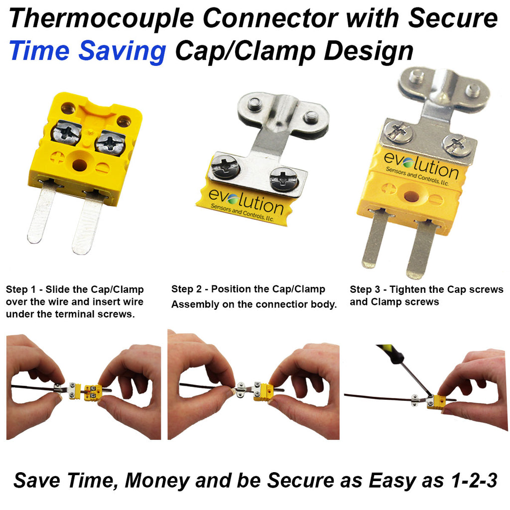 Thermocouple Connector - Miniature Time Saver Series