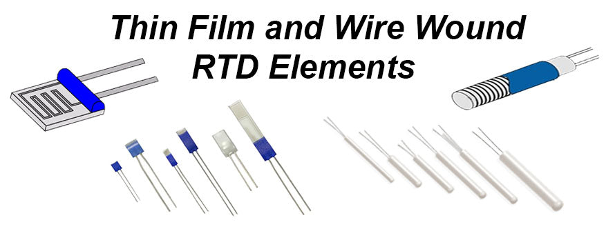 What is an RTD Element? How are they made and utilized with RTD Temperature Sensors and Probes.