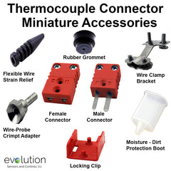 Miniature Thermocouple Connector Accessories Type C