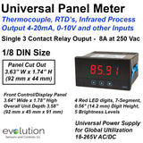 Universal Thermocouple Panel Meter