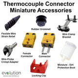 Miniature Thermocouple Connector Accessories Type K
