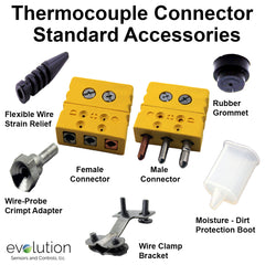 Standard Thermocouple Connector Accessories