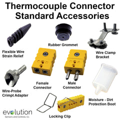 Thermcouple Connector Standard Accessories