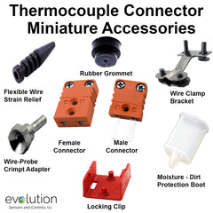 Miniature Thermocouple Connector Accessories Type N