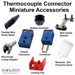 Miniature Thermocouple Connector Accessories Type T