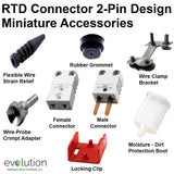 RTD Connector 2-Pin Miniature Accessories
