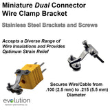 Miniature Thermocouple Connector Accessories, Miniature Wire Clamp Bracket, Type
