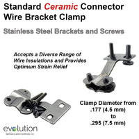 Standard Thermocouple Connector Accessories, Standard Wire Clamp Bracket, Type