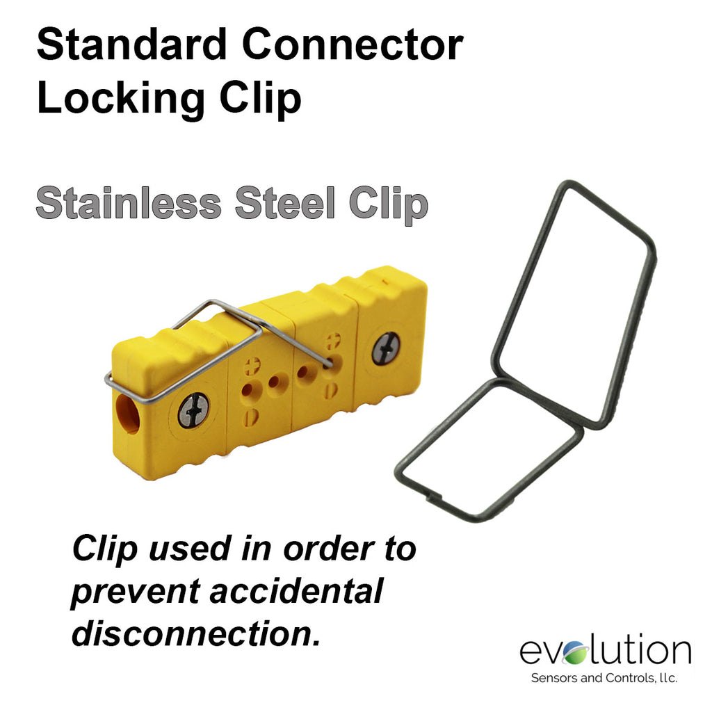 Standard Thermocouple Connector Accessories, Standard Locking Clip, Type