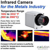Infrared Camera for the Metals Industry
