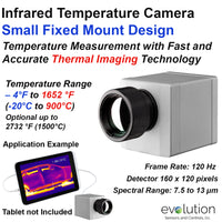 Infrared Camera - Thermal Imager 120 Hz Frame Rate with 160 x 120 Pixels
