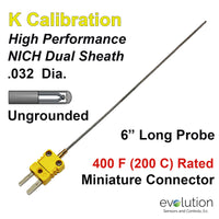 Thermocouple Sensor Type K Ungrounded 6