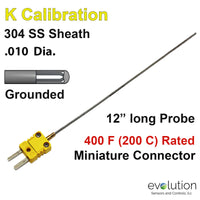 Thermocouple Sensor Type K Grounded 12
