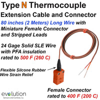 Type N Thermocouple Extension Cable