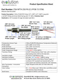 RTD Pipe Plug Probe with NPT Fitting Specifications